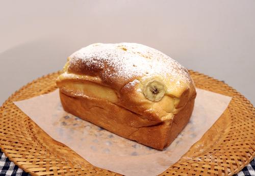 バナナ食パン